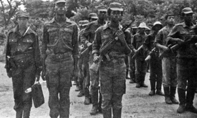 Mandela Helps Form Guerrilla Army