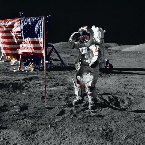 Arrivada a la lluna