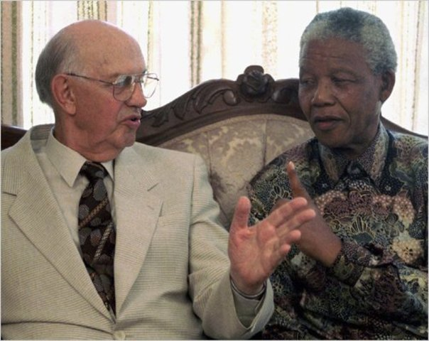 Meets With the South African President
