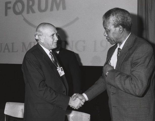 New President Pledges to Phase Out Apartheid