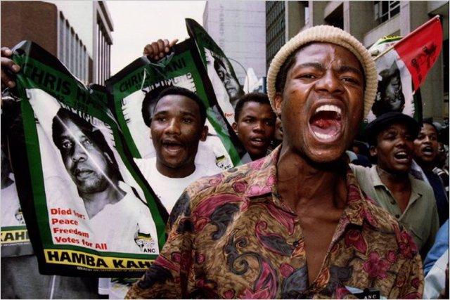 Popular Black Leader Killed; Clashes Follow