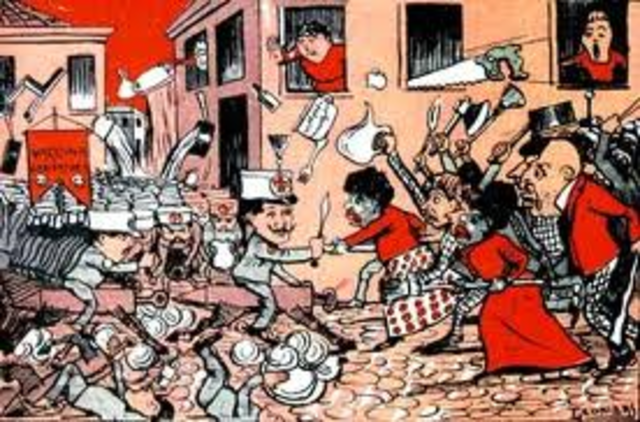 Revoltas Durante  a Republica Oligárquica