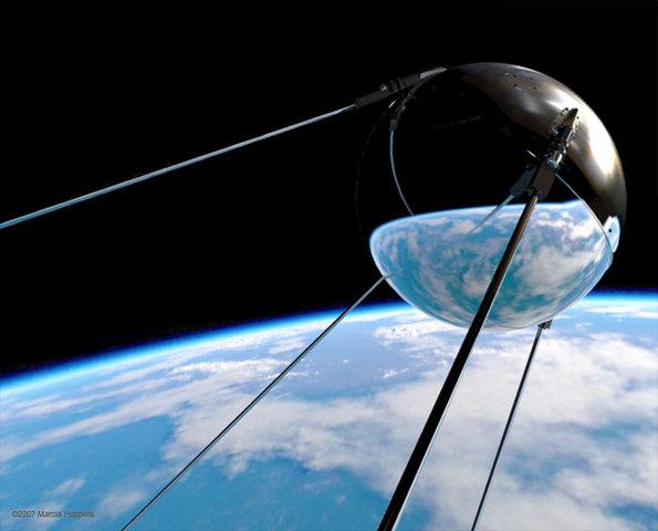 Primer satèl·lit artificial