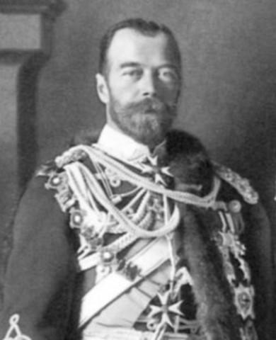 Tsar Nicholas II Takes Personal Control Over Russia's Armies