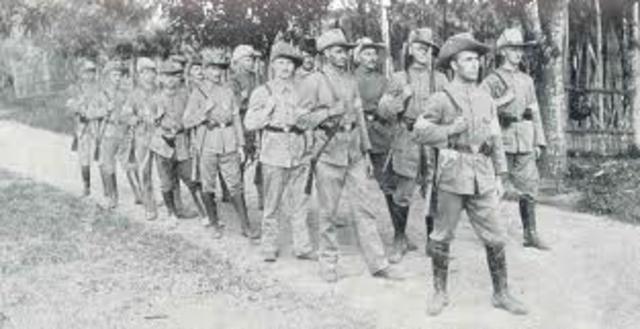 Australian troops in Germany.