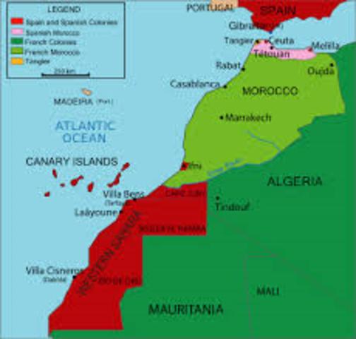 Moroccan Crisis ends.
