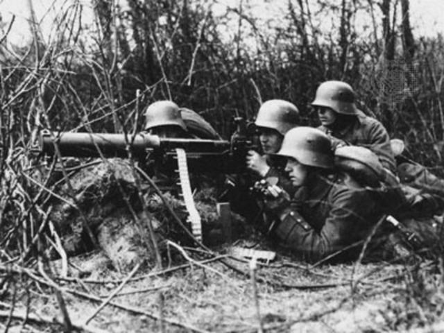 USA attack Germans
