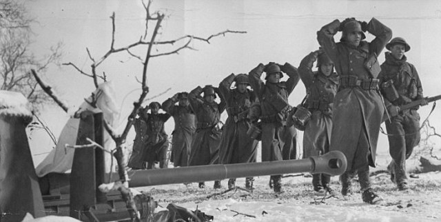German Forces Begin Withdrawal
