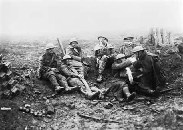 The battle of Ypres begins