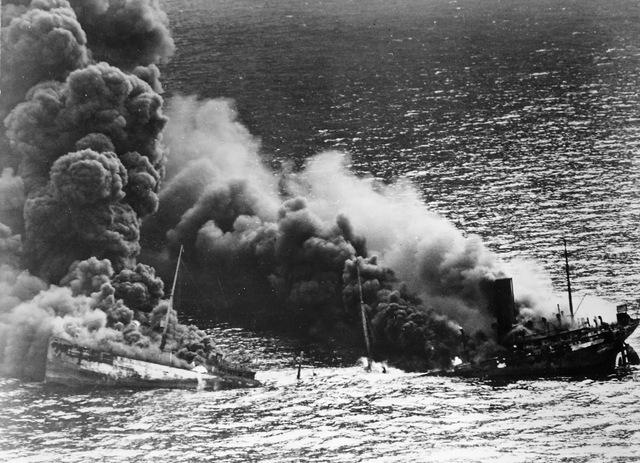 North Sea a war zone