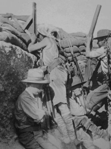 The Dardanelles Campaign begins (Also know as Gallipoli)