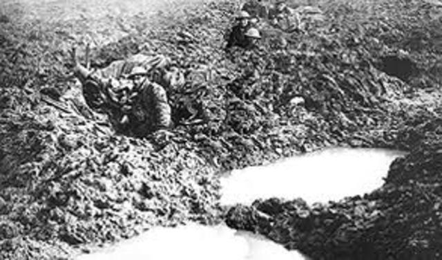 The Battle Of Passchendaele Begins