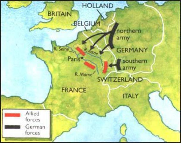 Battle of Mons begins
