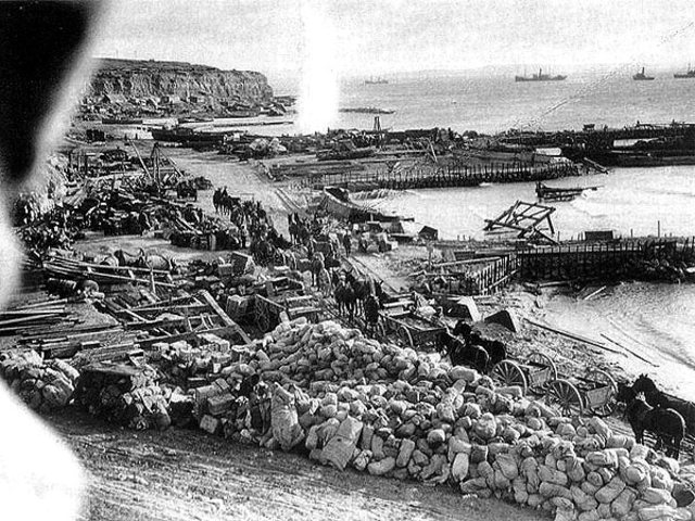 The Allies started the evacuation of Gallipoli