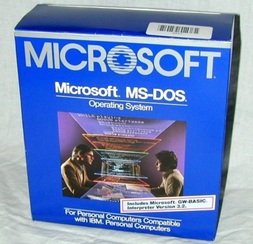 sistema operativo ara pc MS-DOS