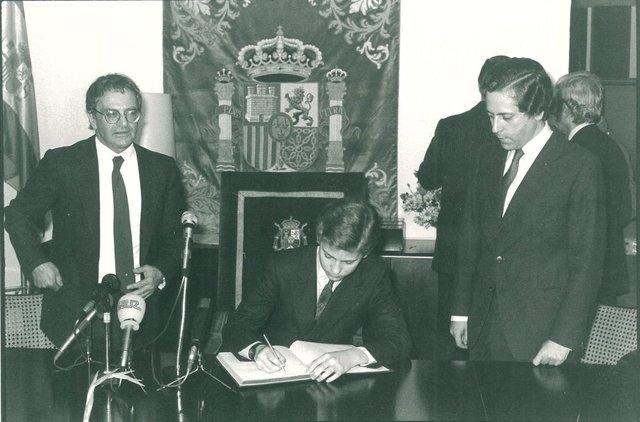 Acreditado como príncipe de Asturias