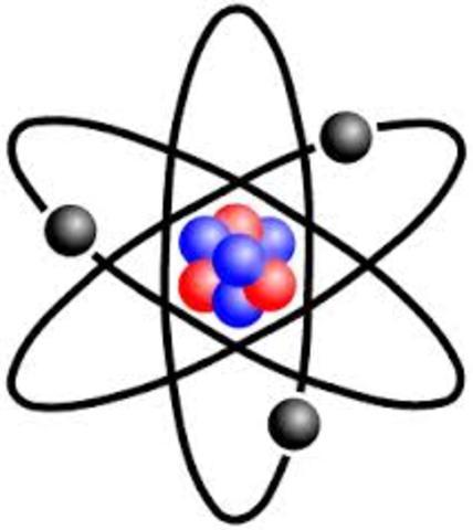 Planetary/Nuclear Model - Hantaro Nagaoka/Ernest Rutherford/Niel Bohr