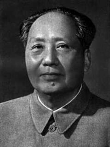 Mao presidente del Pcc