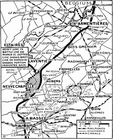 The Battle at Fromelles
