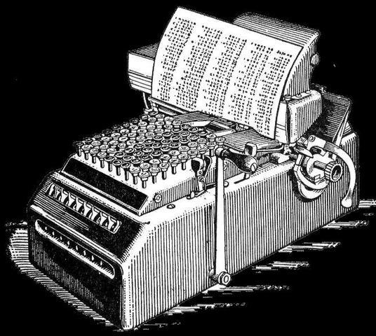Calculadoras mecánicas se producen comercialmente
