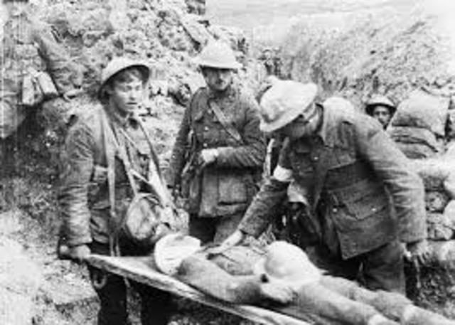 Battle of the Somme.
