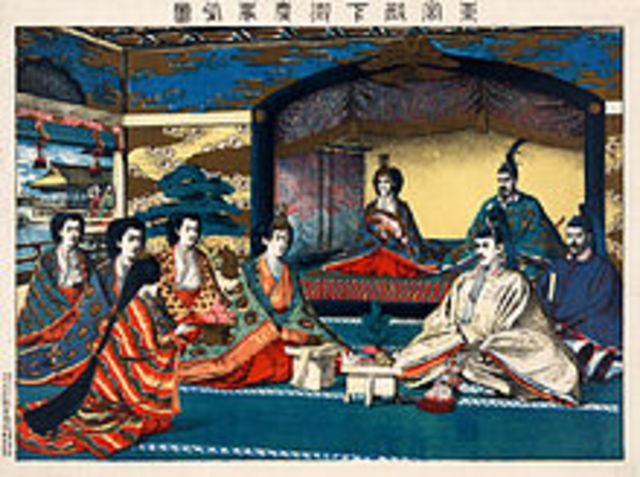 Emperor Meiji is married