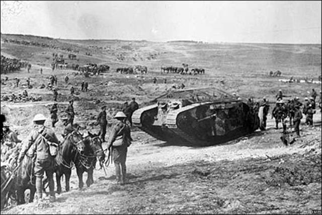 The battle of Somme begins