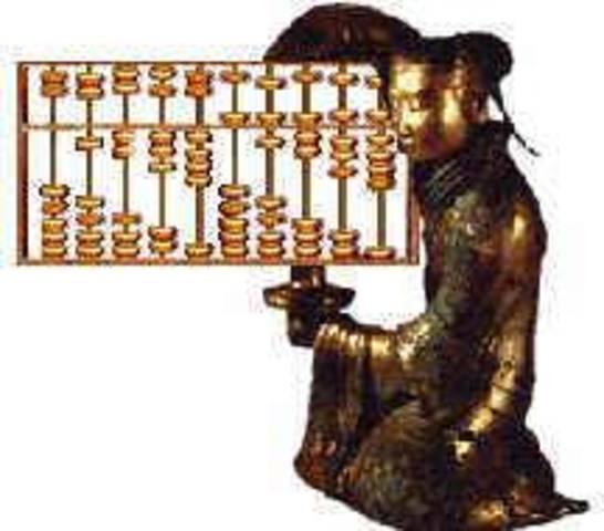 3500 A.C. Creacion del ábaco