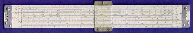 Invencion regla de cálculo