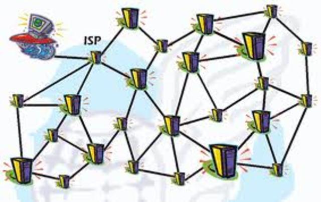 ARPANET termina. Sir Tim Berners-Lee crea la World Wide Web, lo que hoy conocemos como la Internet moderna