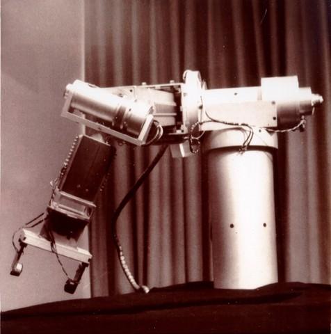 Robot de pintura por pulverización.