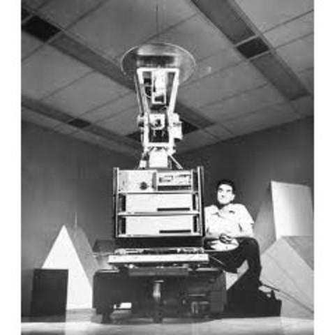 robot móvil llamado 'Shakey''