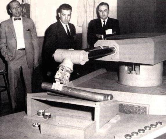 el primer robot 'Unimate''