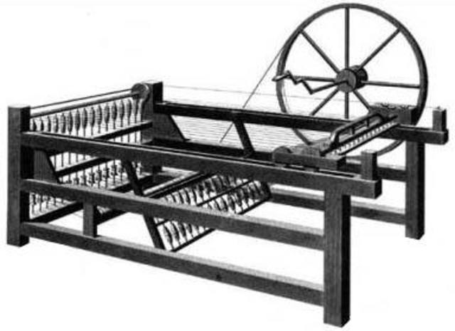 """The """"Spinning Jenny"""" invention"""