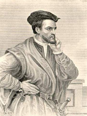 Jacques Cartier sent off by the French