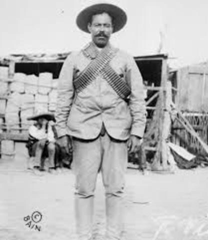 Mexican rebel Pancho Villa raids New Mexico.