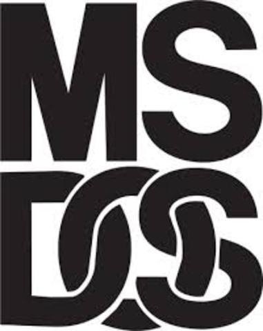 MS-DOS Sistema operativo