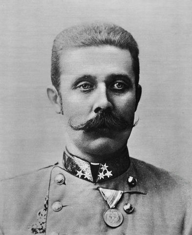 Assanination of Archduke Franz Ferdinanad