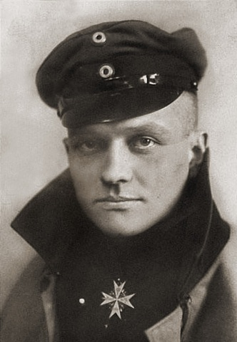 German flying ace, the Red Baron is finally shot down