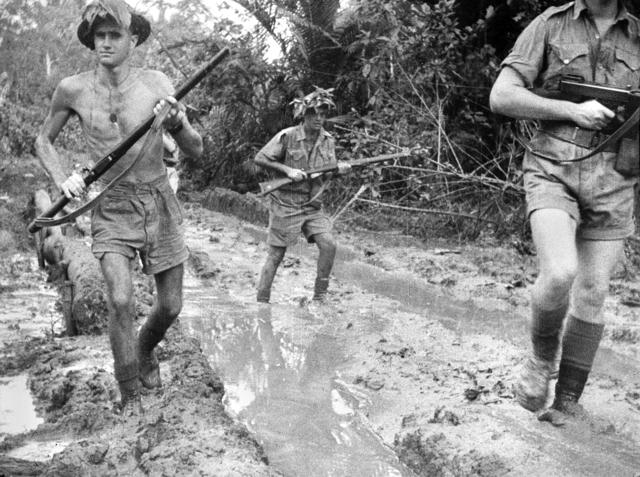 Australian forces take possesion of German New Guinea