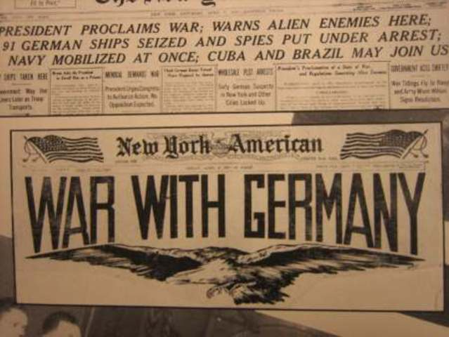 USA declared war on Germany