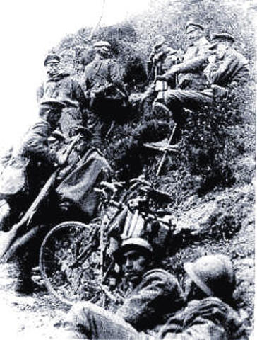 Battle of Caporetto – the Italian Army was heavily defeated
