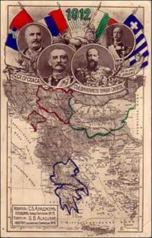 End of the Balkan Wars.