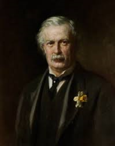 David Lloyd George becomes Prime Minister of Britain