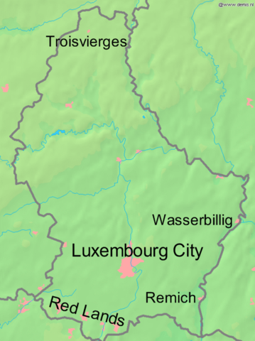 German invasion of Luxembourg