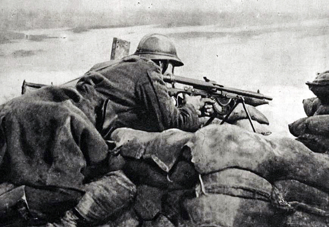 Britain launched a major offensive on the Western Front