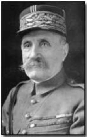 Marshall Foch was appointed Allied Commander on the Western Front.