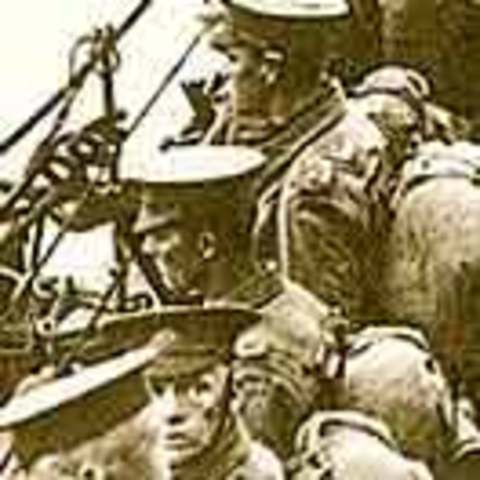 Why did the ANZACs land in Gallipoli?