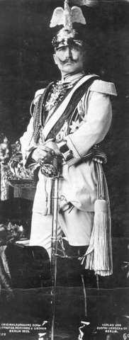 Kaiser Wilhelm II abdicated