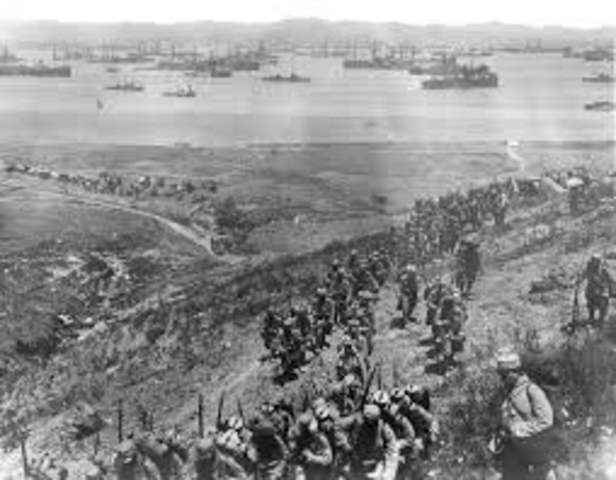 Gallipoli ends